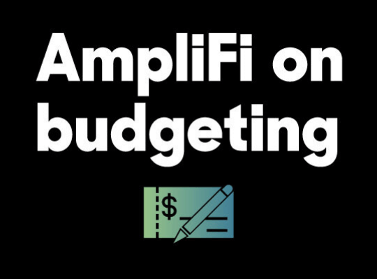 AmpliFi on budgeting blog header image