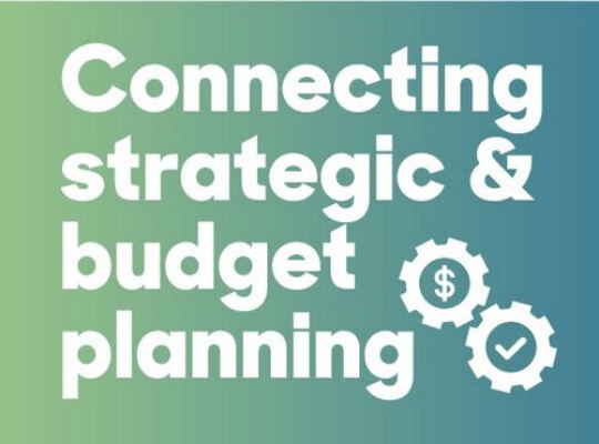 Connecting Strategic and Budget Planning blog header image