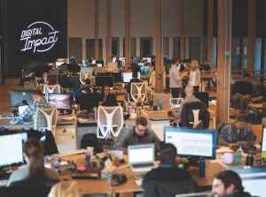 Image of Rocket55 office workspace